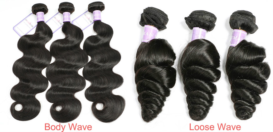 Brazilian Body Wave Hair and Loose Wave Hair