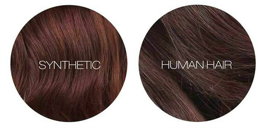 Body wave human hair VS Synthetic body wave hair
