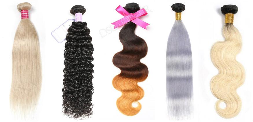 Colored Brazilian Hair Weave