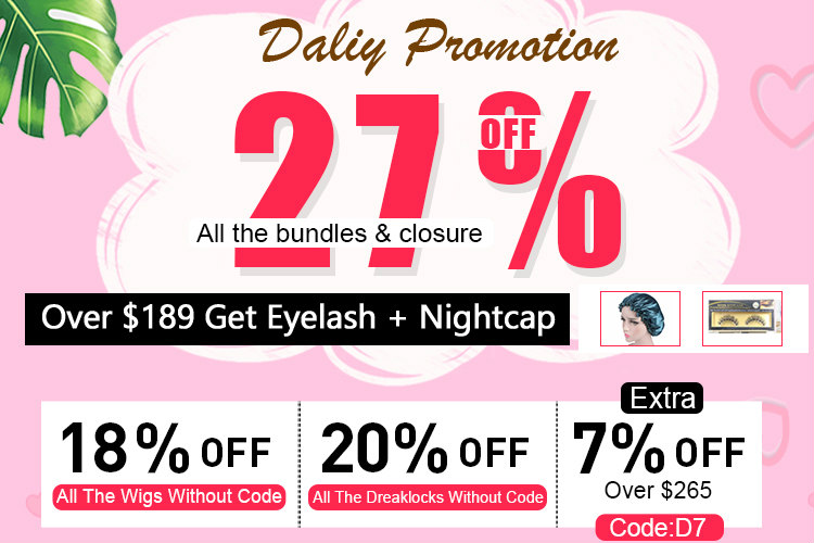Dsoarhair Daily Promotion