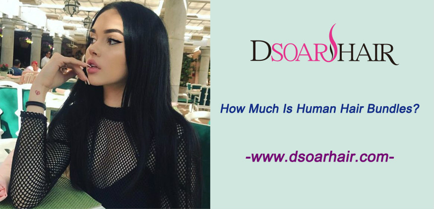 How much is human hair bundles