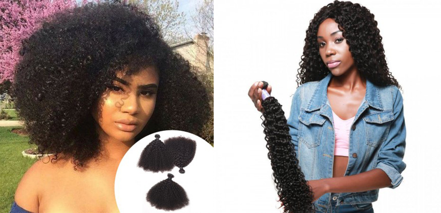 Kinky Curly Weave VS Curly Wave