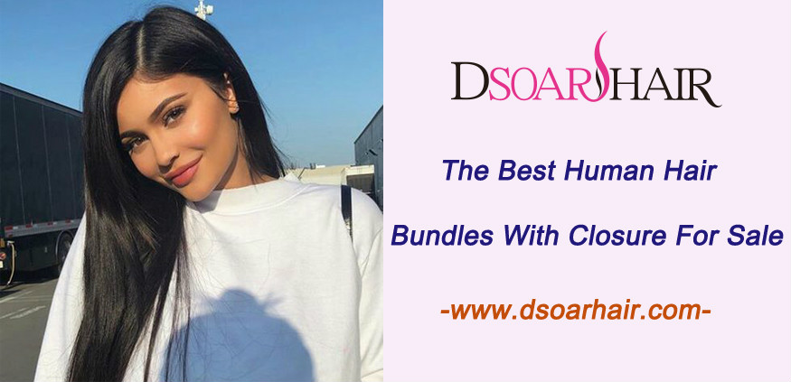 The best human hair bundles with closure for sale