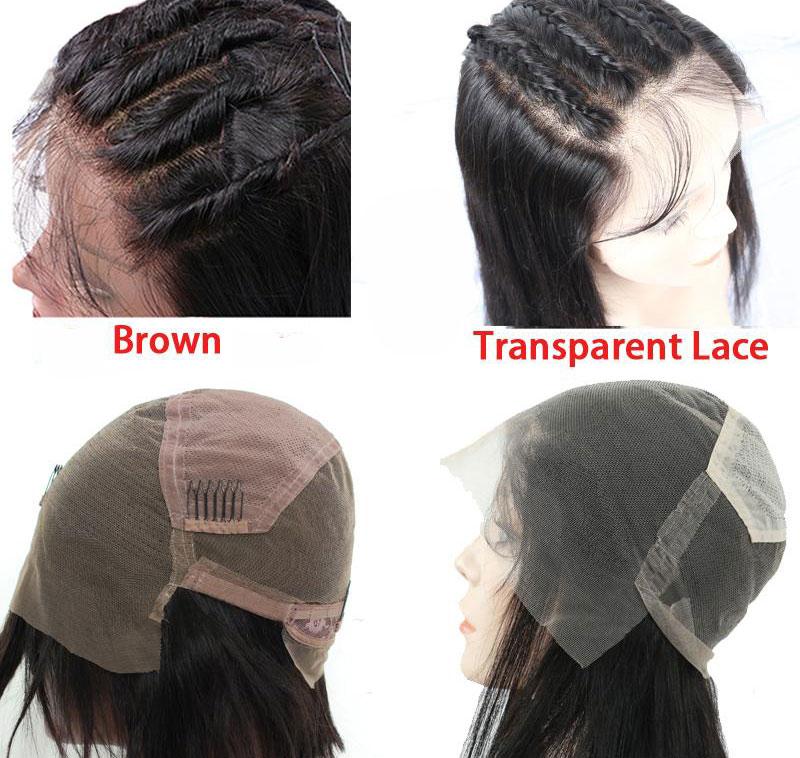 Brown Lace vs Transparent Lace