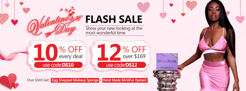 DSoar Hair 2019 Valentine's Day Sale: Up To 12% Off
