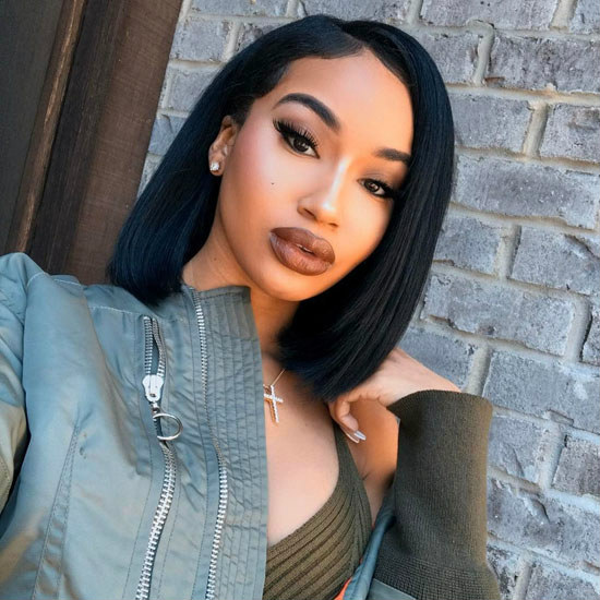 affordable bob lace front wigs