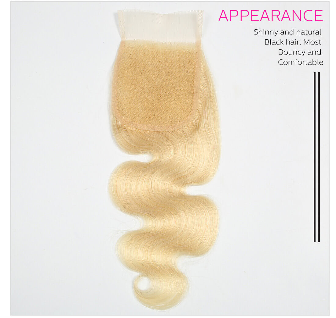 DSoar Hair 613 Blonde Body Wave Hair