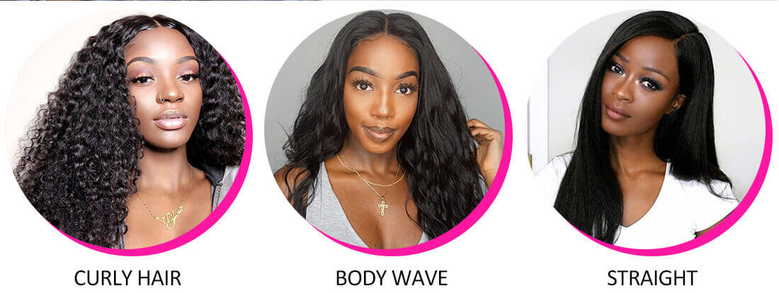 Body Wave Hair 4 Bundles With Lace Frontal Closure