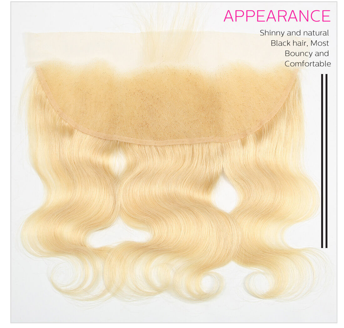 DSoar 613 Blonde Body Wave Hair