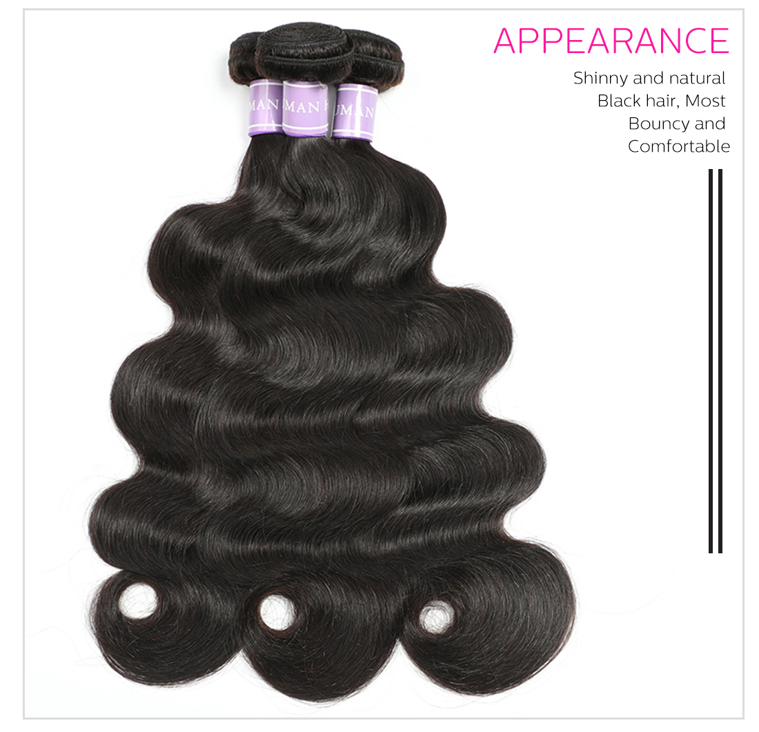 Malaysian human hair weaves