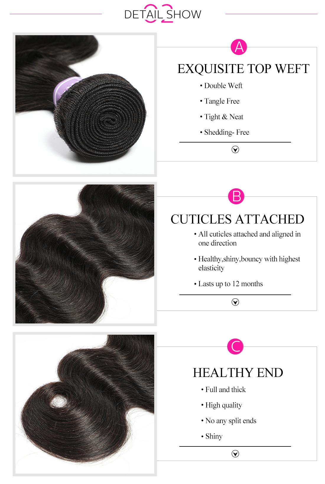 cheap hair weave body wave