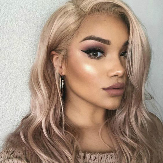 colorful lace front wigs