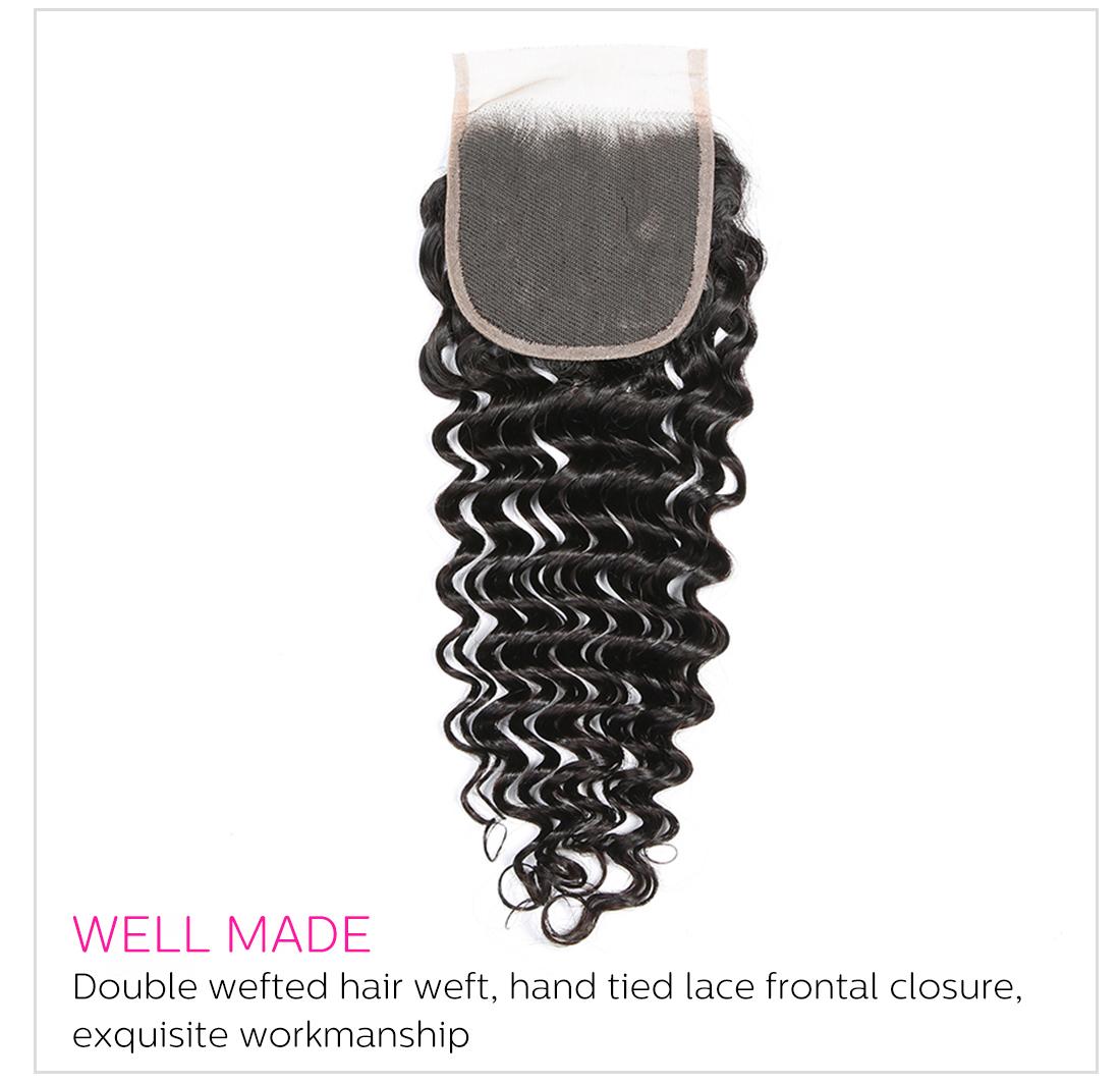 deep wave hair weave