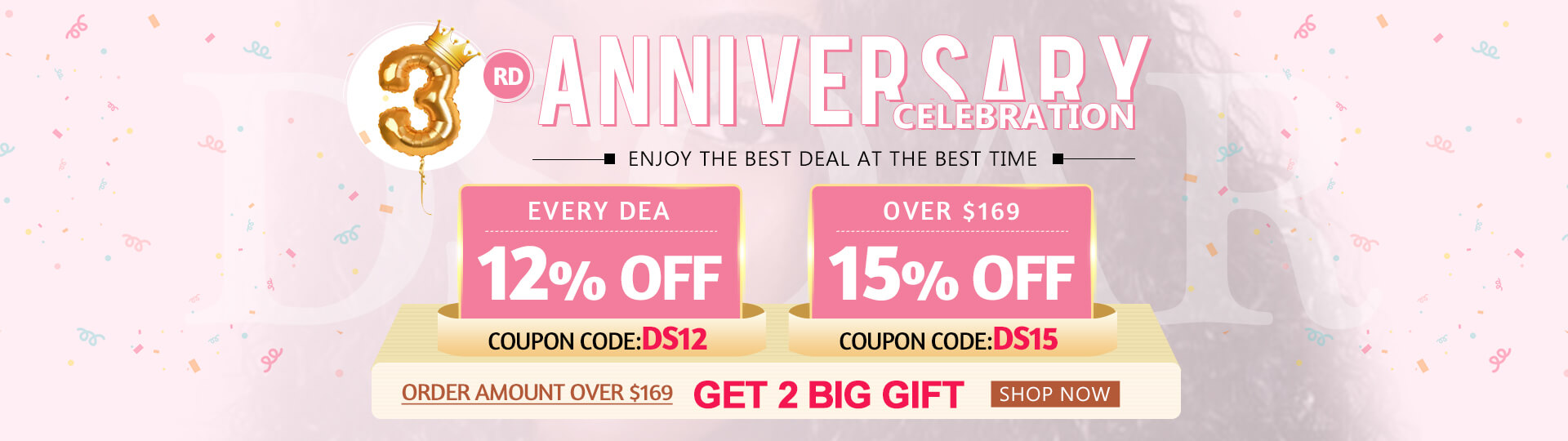2019 DSoar 3rd Anniversary Celebration Sale:Up to 15% OFF