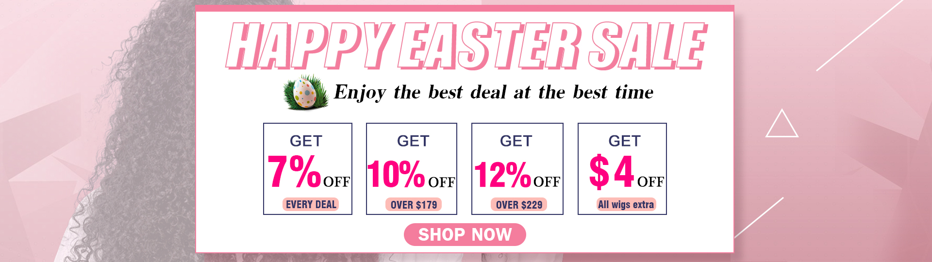 Easter Big Sale:Up To 12% OFF Brazilian Body Wave