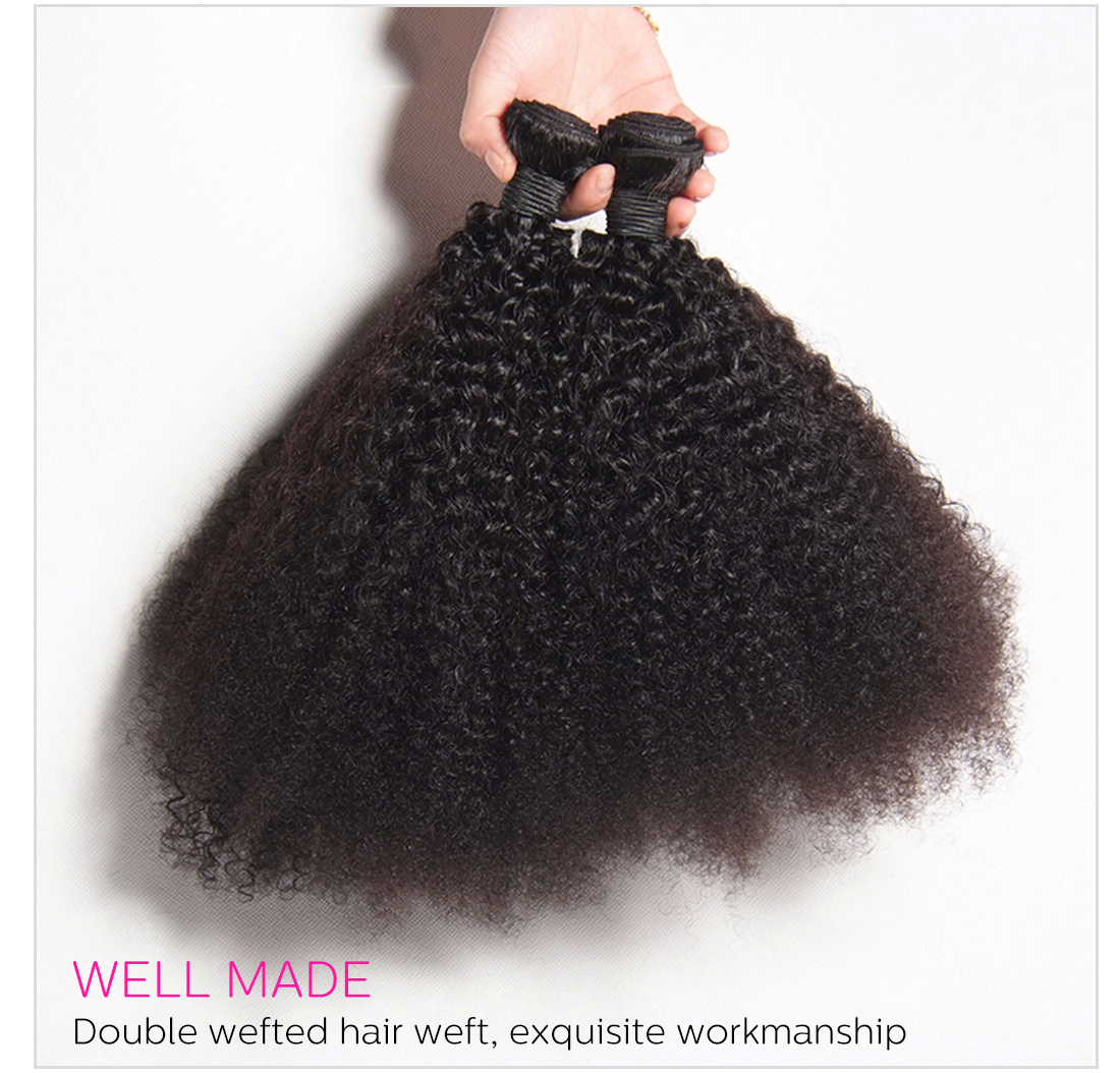 black girl kinky curly Afro hair