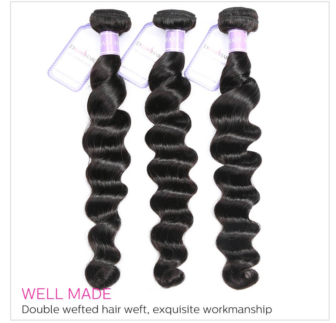 4 Bundles Sew In Virgin Hair
