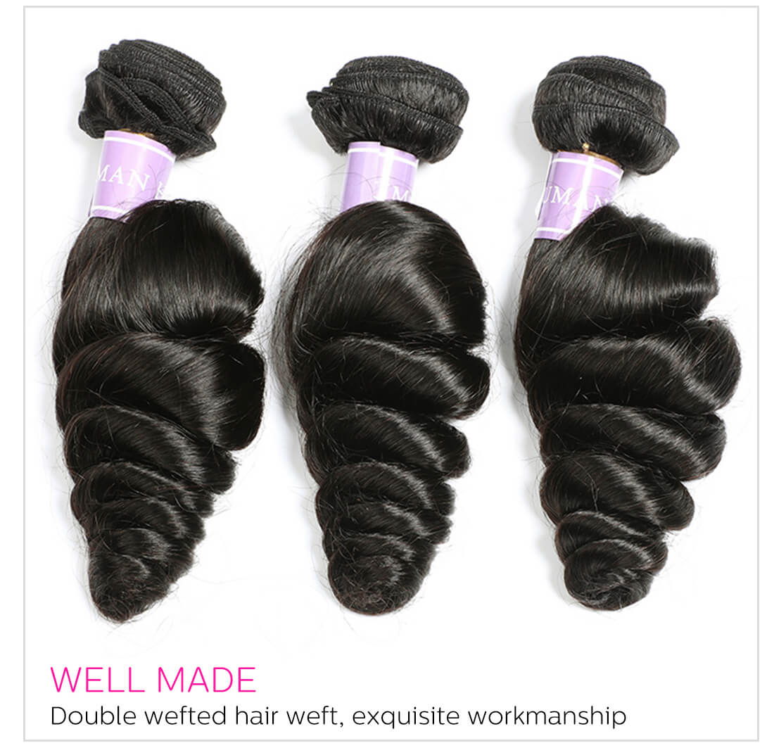 4 Bundles Virgin Human Hair