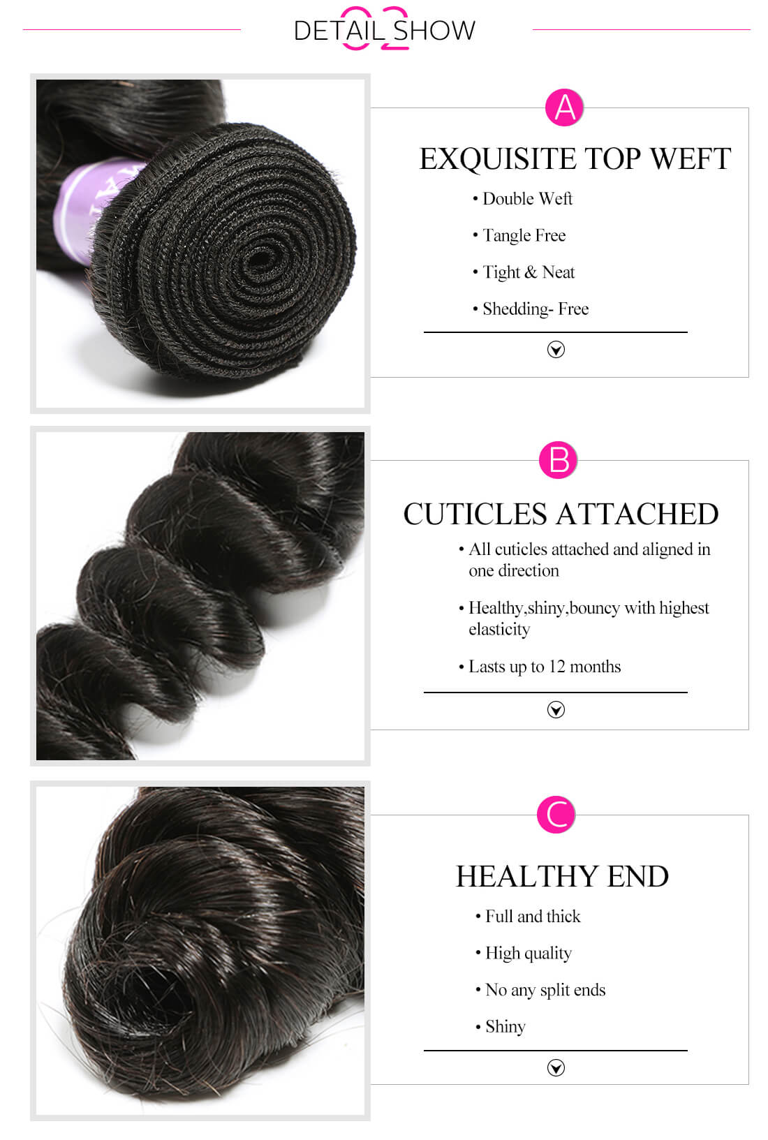Loose Wave Virgin Hair