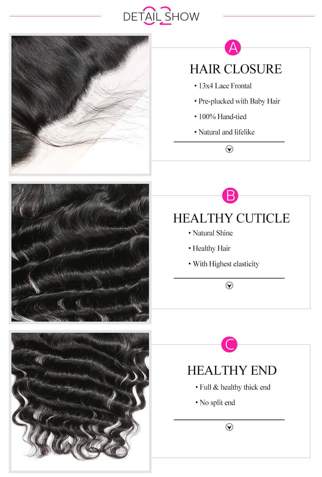 Loose Deep Human Hair Weave Bundles