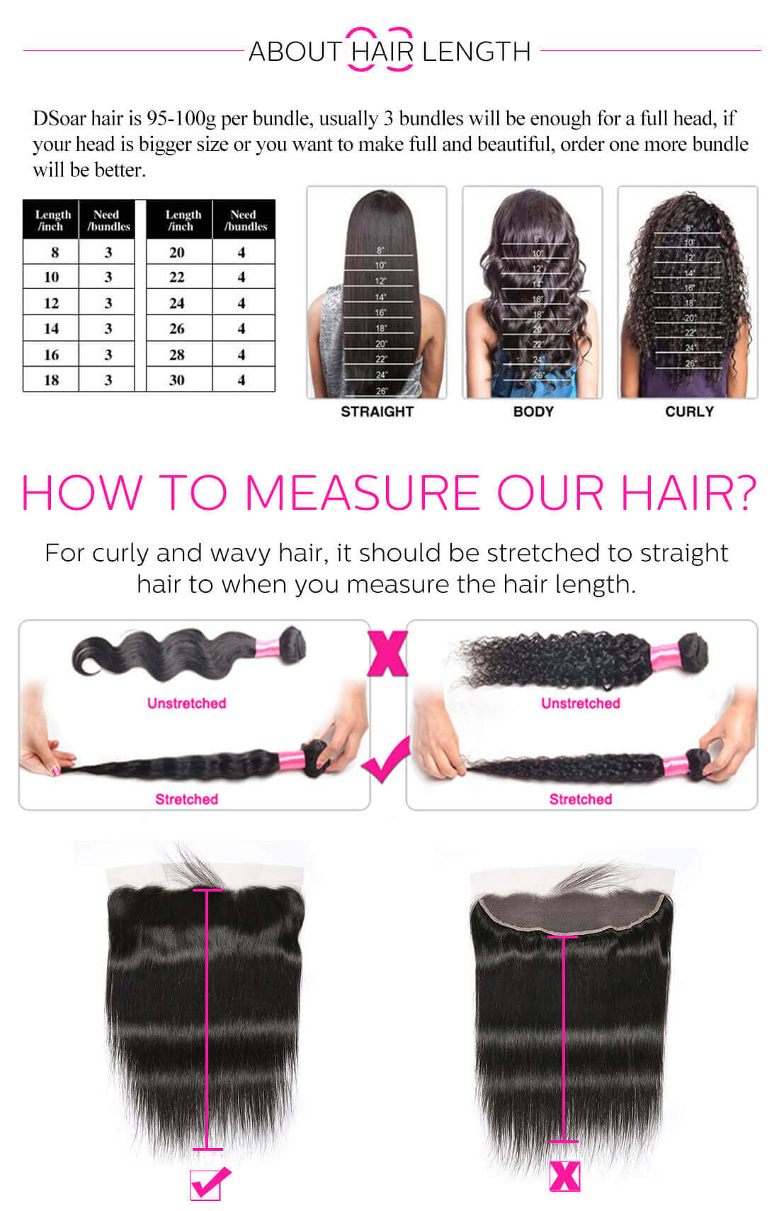 Virgin Human Hair Weave Bundles