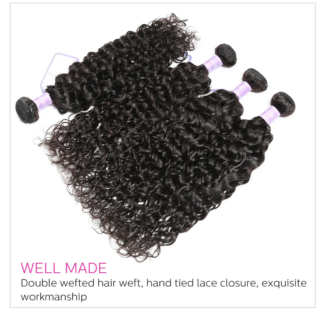 Top Selling Natural Wave Hair 3 Bundles