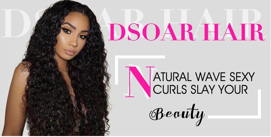 Brazilian Natural Wave Hair Bundles With Lace Closure