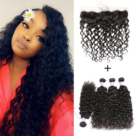 Peruvian Natural Wave Bundles with Frontal