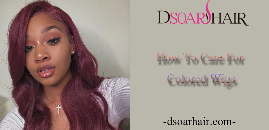 How To Care For Colored Wigs