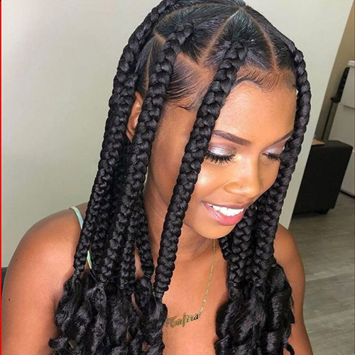 briad hair